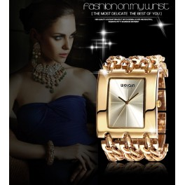 Ročna ura WEIQIN Gold Elegant