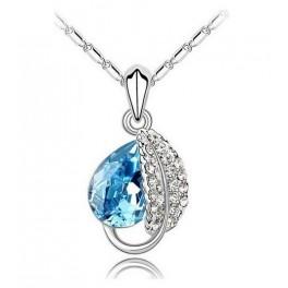 Ogrlica ujeta kaplja (Modra)