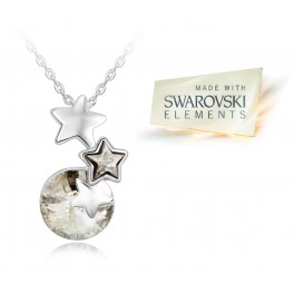 Ogrlica Beautiful Star (Made with Swarovski Elements)